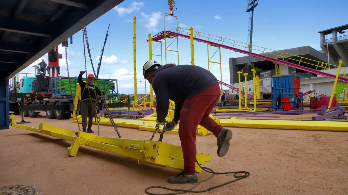 El 'Arenal Park' contará con 157 cacharritos, atracciones y barracas para todos los públicos