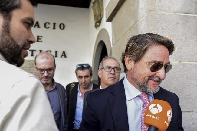Declaración  en el TSJC del juez Alba por las ...