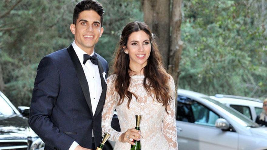 Melissa Jiménez y Marc Bartra esperan su tercer hijo