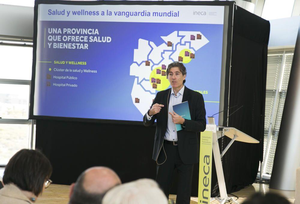Presentación del informe de Ineca en el Distrito Digital