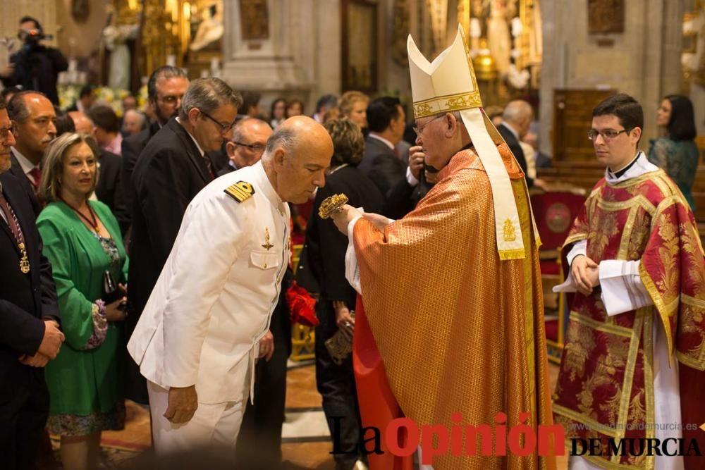 Misa Pontifical en Caravaca