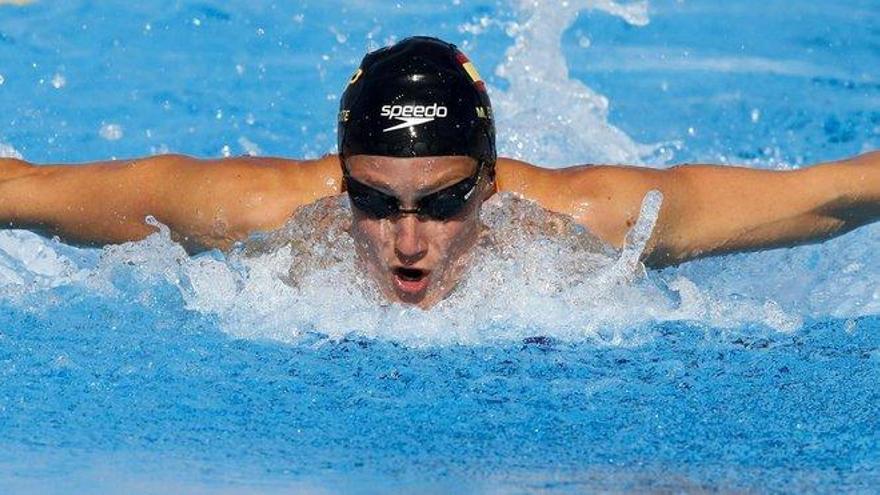 Mireia Belmonte obtiene plaza para la final de 800 metros libre