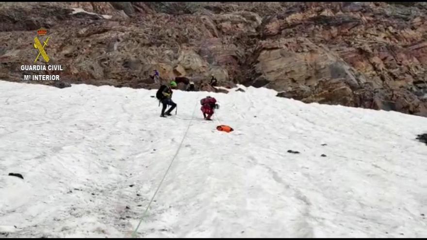 Fallece un montañero de Alcoy tras caer unos 150 metros en el Pirineo de Huesca