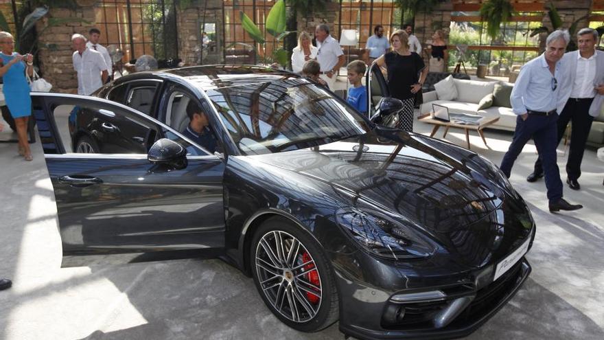 Porsche presenta el nou Panamera al Mas Marroch de Vilabrareix