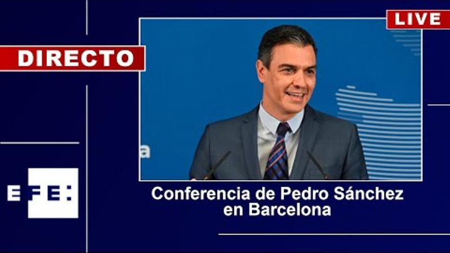 EN DIRECTE | Segueix la conferència de Pedro Sánchez al Liceu