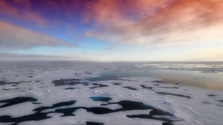 El hielo marino del Ártico alcanza mínimos históricos, sólo una vez vistos