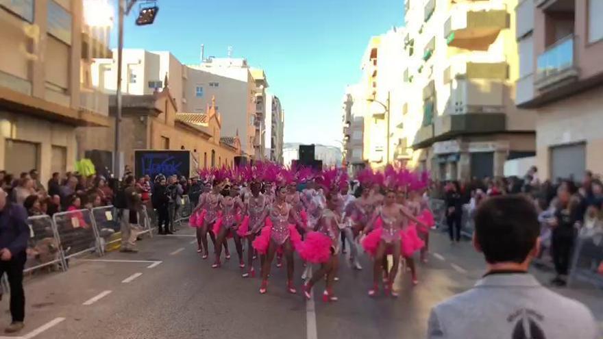 Arranca el primer desfile del Carnaval de Águilas