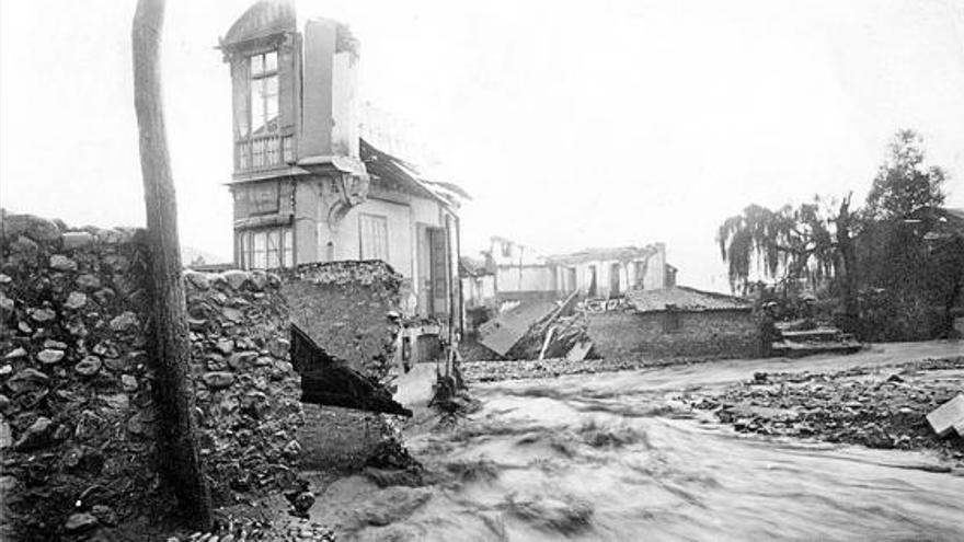 El día en que el agua sepultó Grado - La Nueva España