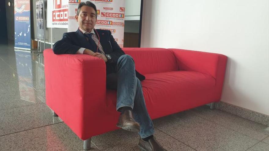 """Pedro Costeras: """"El Gobierno canario es mal patrón"""""""