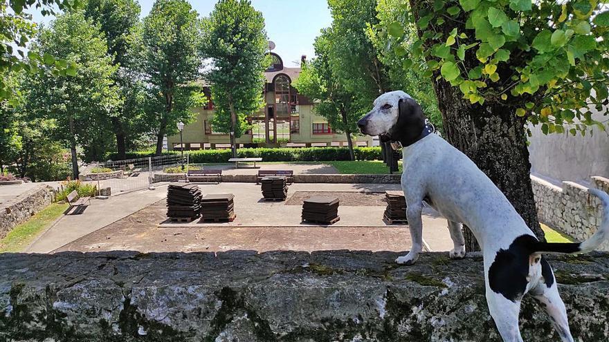 El Ayuntamiento renueva el espacio infantil del parque de San Pedro