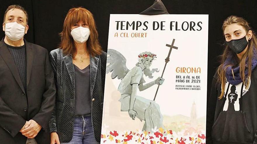 L'àngel de la Catedral, al cartell de Temps de Flors