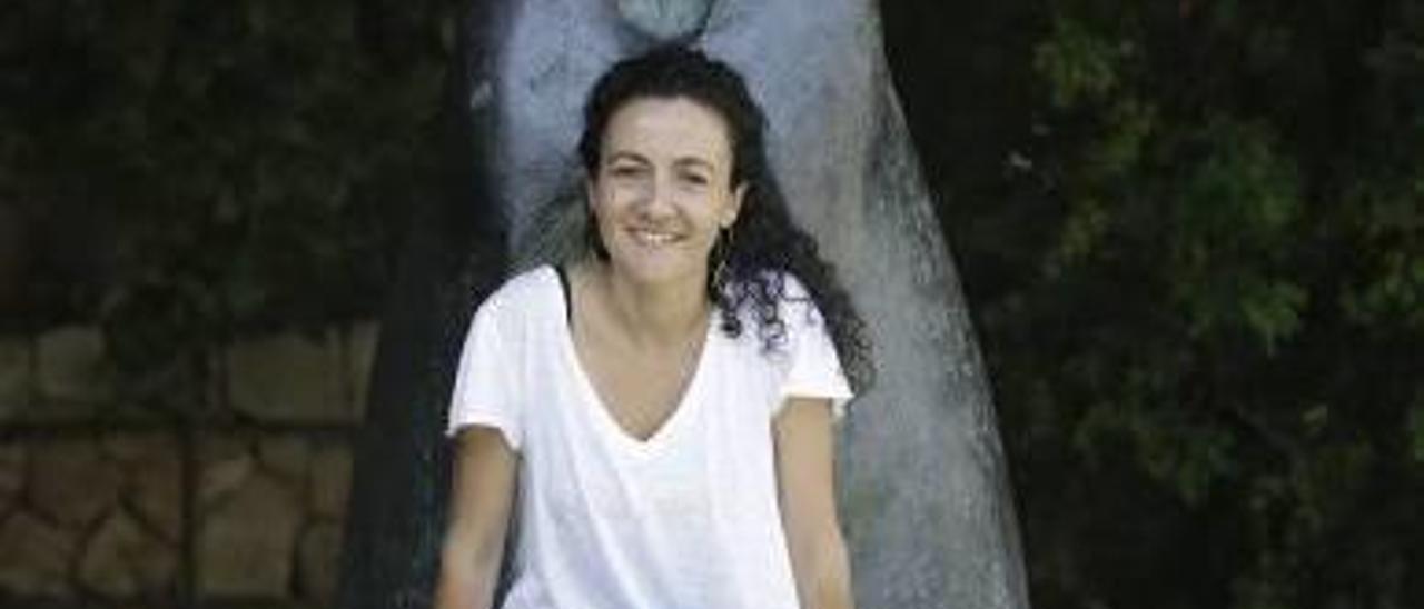 La historiadora Elena Juncosa, ayer, en la Fundació Miró.
