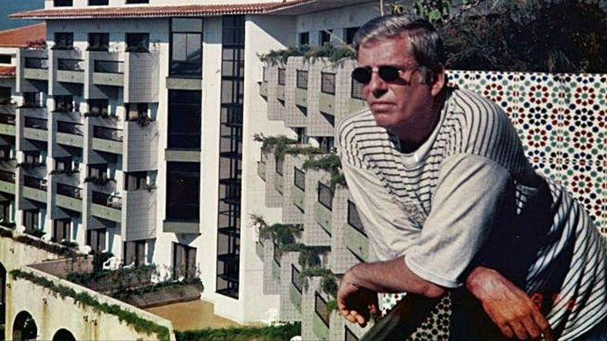 Saulo Torón en su Cinema Paradiso