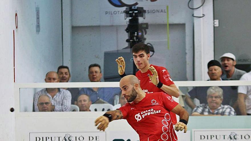 Siete de los 16 pilotaris que juegan la Copa Diputació Caixa Popular son de la comarca