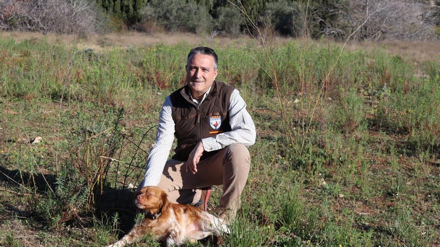 El valenciano Raúl Esteban, vicepresidente de la Federación Española de Caza