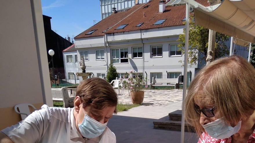 Xardinería na Residencia de As Dores