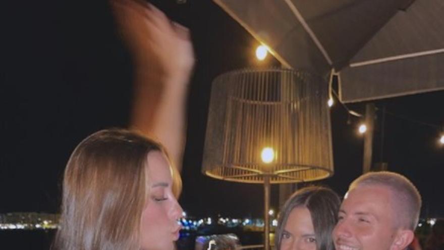 La influencer Paula Gonu, en Ibiza tras ser víctima de una extorsión