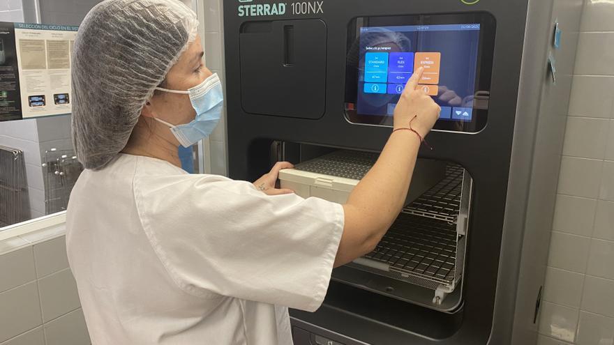 El Hospital Vega Baja de Orihuela renueva su equipo de control de esterilización del instrumental quirúrgico