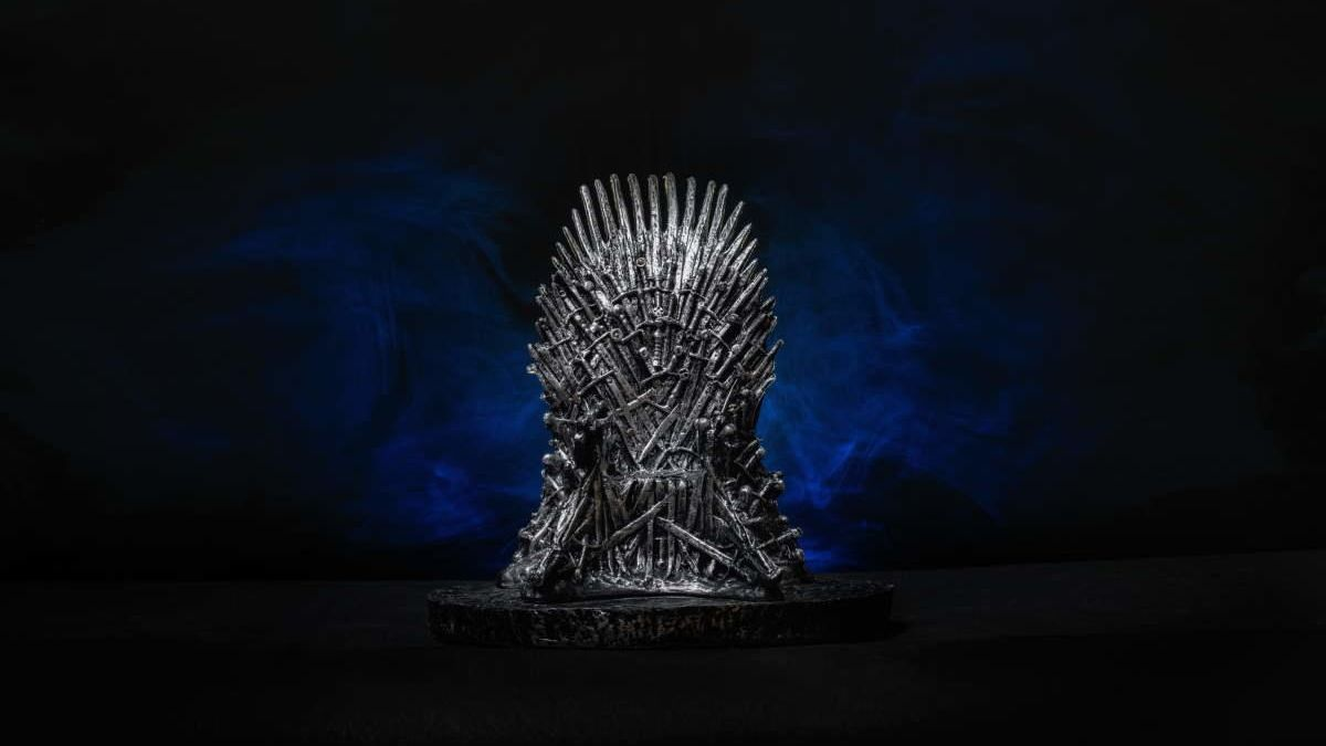 The iron throne from & # 039; Game of Thrones & # 039 ;.