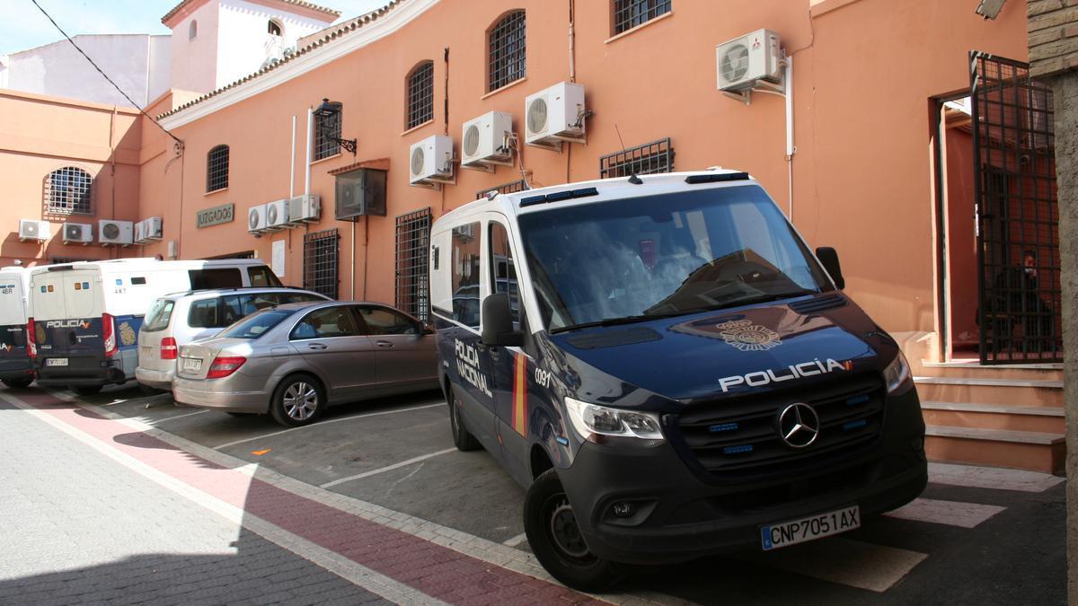 Exterior de los juzgados de Lorca.