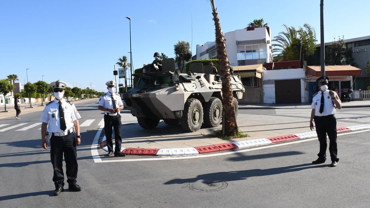 Policía de Marruecos