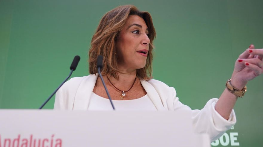 El PSOE andaluz denuncia amenazas de muerte a Susana Díaz en redes sociales