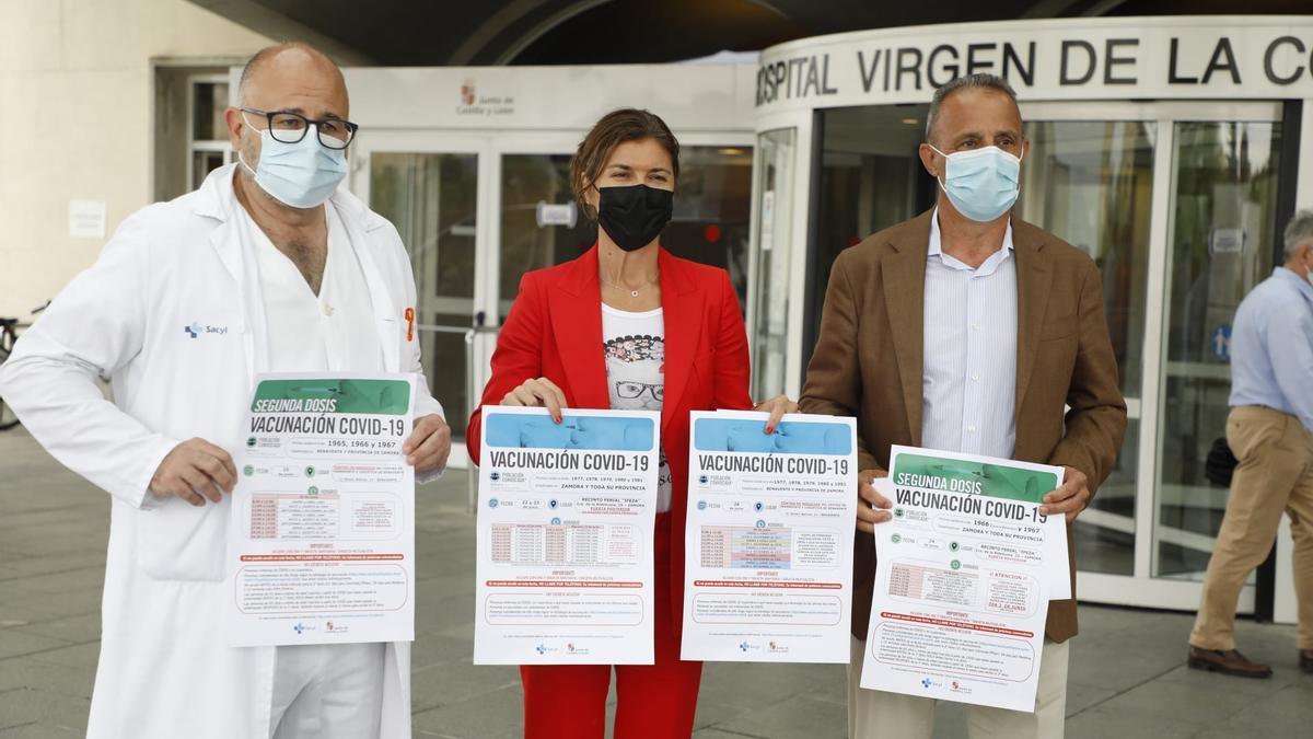 San Damián presenta la nueva tanda de vacunación para la próxima semana.