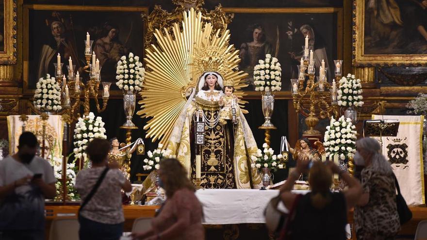 El día de la virgen del Carmen en Córdoba