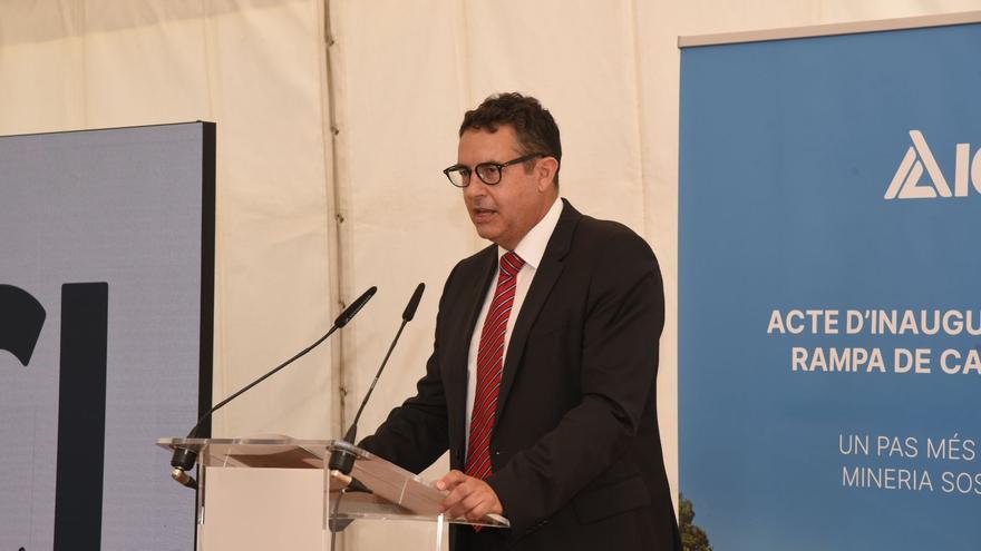 El president d'ICL, Carles Aleman explica com ha sigut el desenvolupament del projecte
