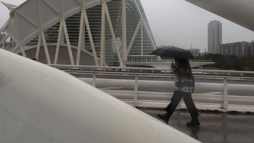 El tiempo en Valencia: las lluvias siguen este lunes