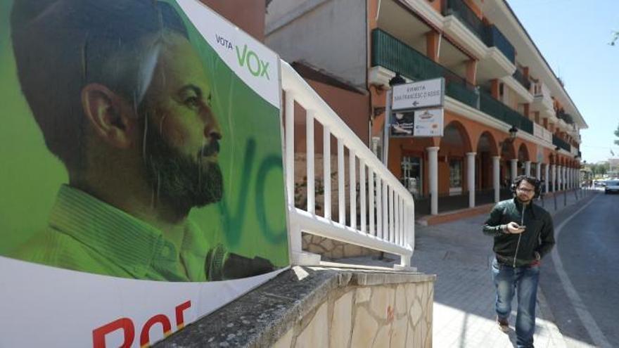 Vox ha sido la fuerza más votada en Náquera en las elecciones generales