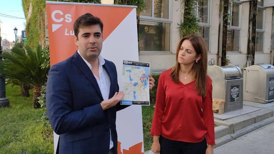 Ciudadanos Lucena propone el desarrollo de una app que informe sobre la disponibilidad de aparcamientos en la ciudad