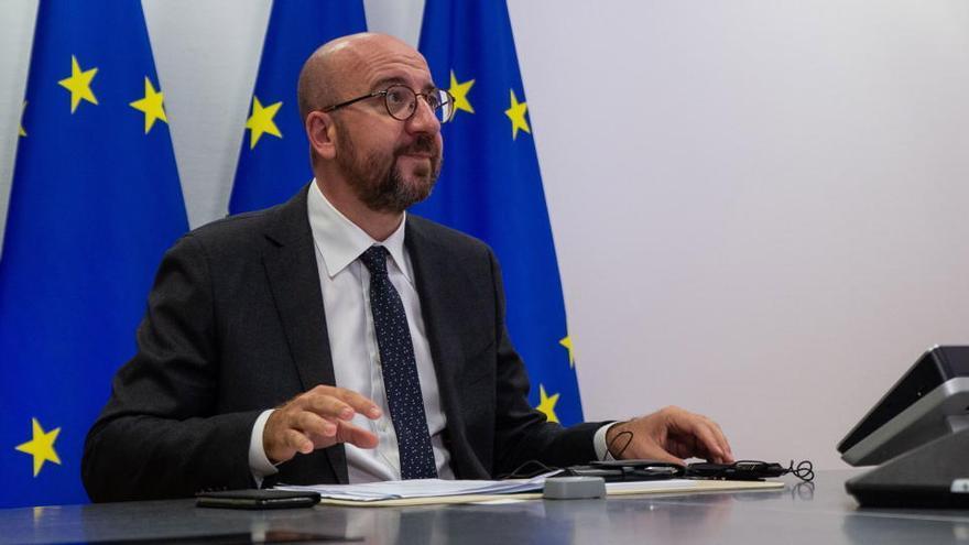 Aplazada la cumbre de la UE por un positivo por Covid en el entorno de Charles Michel