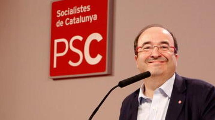 Iceta: «No hi haurà 'parlonistes' ni 'icetistes', hi haurà socialistes que és el que som»