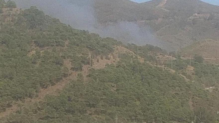 Controlado el incendio forestal en Ardales y estabilizado el de Ojén