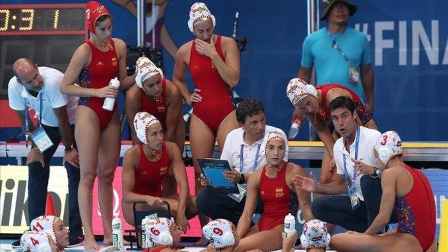 Las 'leonas' del waterpolo español llegan a la final del Mundial