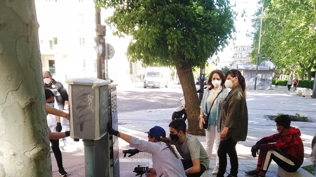 Programas de Educación de Calle en la ciudad