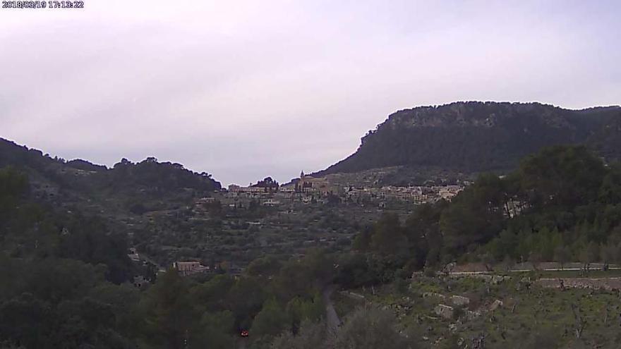 Schneefallgrenze auf Mallorca sinkt auf 500 Meter