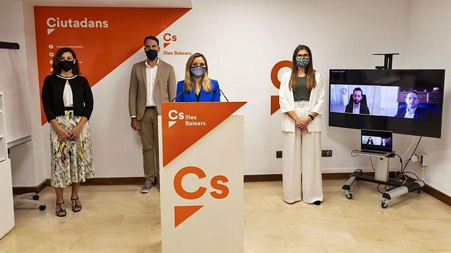Cascada de bajas en Ciudadanos por la nueva cúpula en Baleares