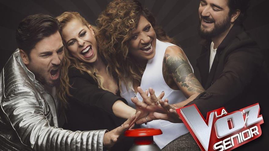 'La Voz Senior' vuelve el próximo 10 de diciembre