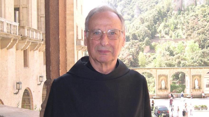 Montserrat acomiada el monjo benedictí i historiador Hilari Raguer