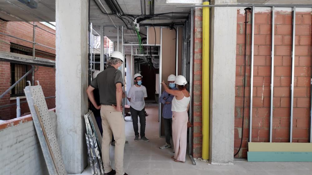 Obras de ampliación del centro de salud de Sant Joan