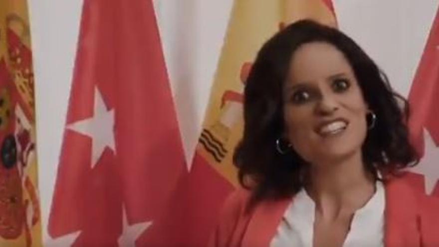 """Vídeo viral: TV3 convierte a Díaz Ayuso en Shakira con """"Yo no cierro Madrid"""""""
