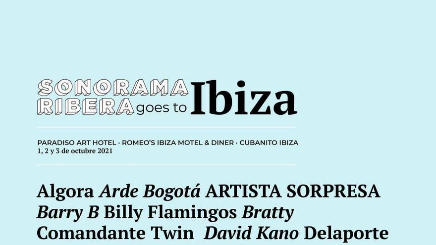 El festival Sonorama desembarca en Ibiza con cinco días de conciertos y cultura