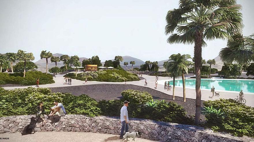La construcción del parque urbano de Playa Honda se licita por 2,3 millones