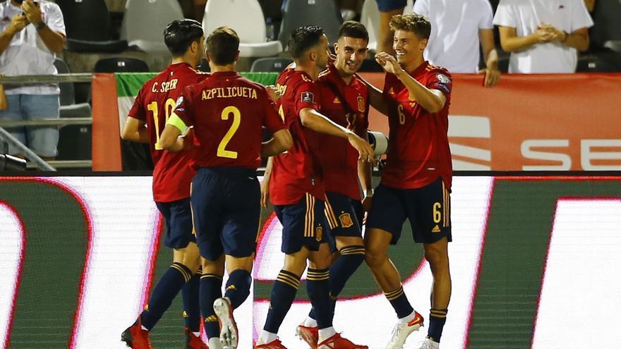 Clasificación del Mundial de Catar: España - Georgia