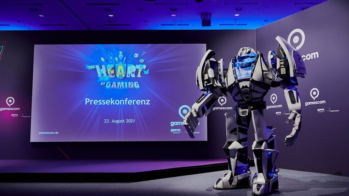 Un momento de la 'Gamescom 2021'.