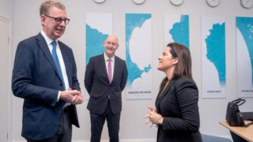 La consejera de Turismo se reúne con el presidente de la DRV en Berlín