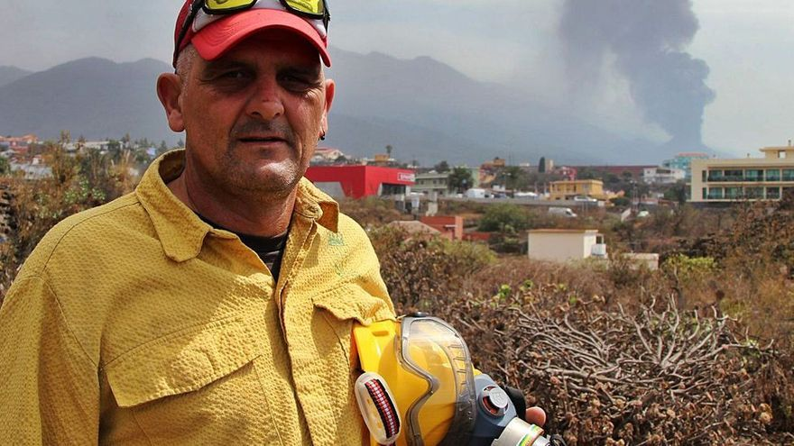 De un funeral a la catástrofe del volcán de La Palma