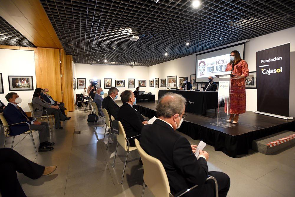 Foro Inca Garcilaso en la Fundación Cajasol